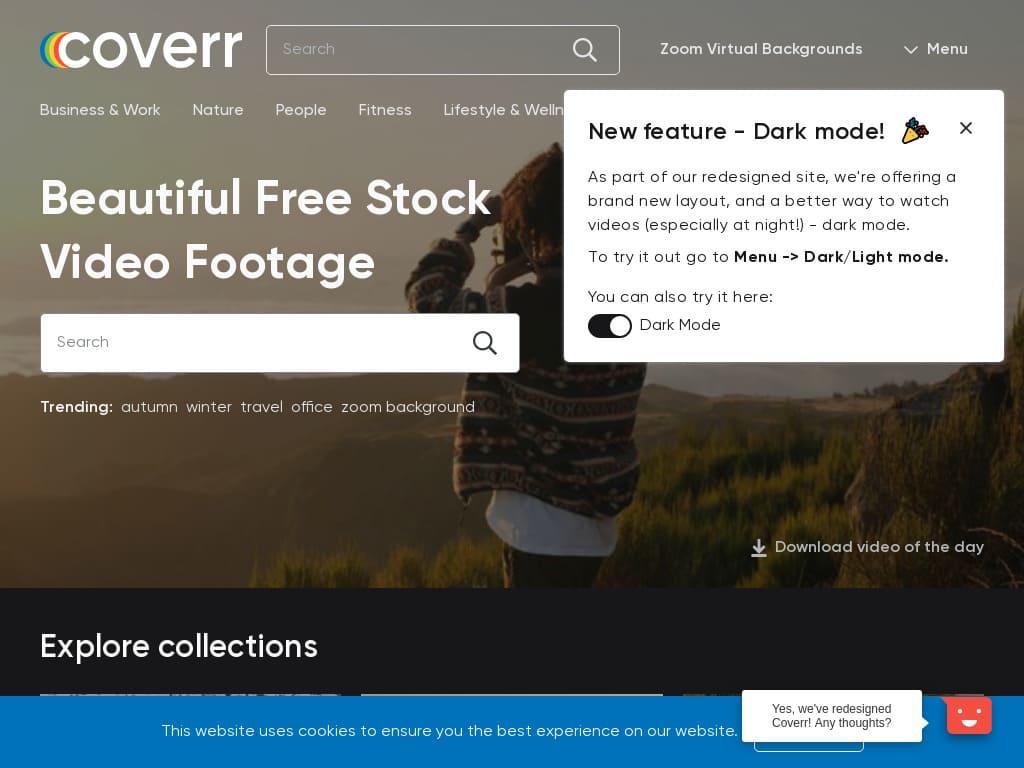 Coverr stock Videos