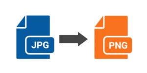 Convert JPG to PNG online